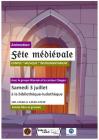 Journée médiévale le samedi 3 juillet